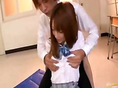 Kaede Matsushima Asian Teacher Has Hardcore Sex In Classroon An Her Cunt Likes In 69