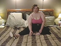 Big White Bbw Plays With Multiple Toys