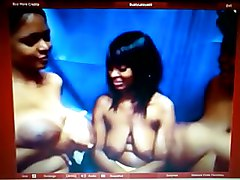 Ebony Angels Lee, Latoya, And Horny Black Chick