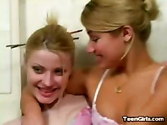 Hot Teen Lesbians Spread And Finger And Toy Moist Pink Pussy