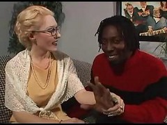 Ivory Granny And Ebony Cock
